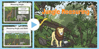 Jungle Measuring PowerPoint