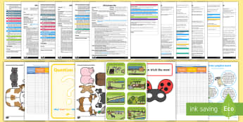 EYFS Adult Input Planning and Resource Pack to Support Teaching on What the Ladybird Heard - Australia - What the Ladybird Heard, Julia Donaldson, minibeasts, EYFS, early years planning, adult led.,Austral