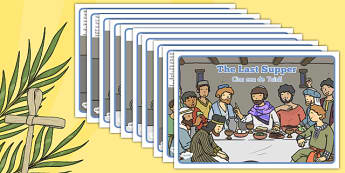 The Last Supper Story Romanian Translation - romanian, seasons, the last supper, story