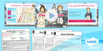 mapwork, maps, grid references,