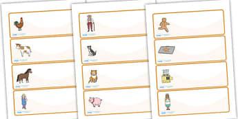 The Gingerbread Man editable Drawer, Peg, Name Labels - Editable Label Templates, Gingerbread Man, Resource Labels, Name Labels, Editable Labels, Drawer Labels, Coat Peg Labels, Peg Label, KS1 Labels, Foundation Labels, Foundation Stage Labels, Teach