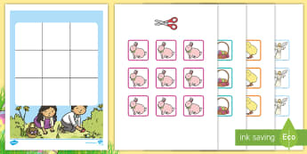 Three in a Row Easter Activity - Australia, EYLF, Foundation, Game, Numeracy, Problem Solving, Counting, easter,Australia