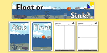 Floating and Sinking Resource Pack - floating, sinking, resource