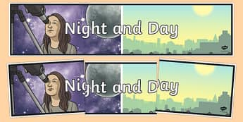 Night and Day Display Banner - australia, night and day, display banner, display, banner