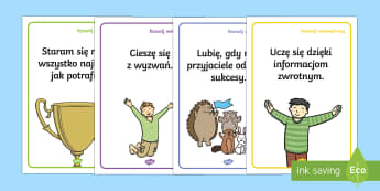 Plakaty Rozwój wewnętrzny - motywacja, wychowawcza, wychowanie, rozwijać się,, motywowanie,Polish