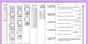 Unități de măsură - Teste pentru exersare