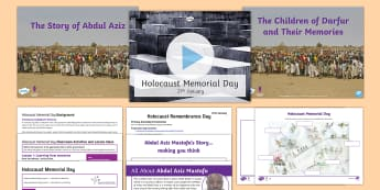 Holocaust Memorial Day Pack - Holocaust Memorial Day, holocaust, darfur, remembrance