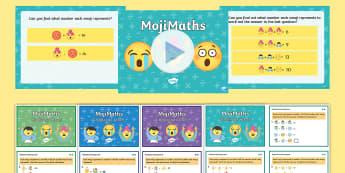 LKS2 MojiMaths Resource Pack - Mathemoji, Solvemoji, Emoticon, Emoji, Algebra, moji