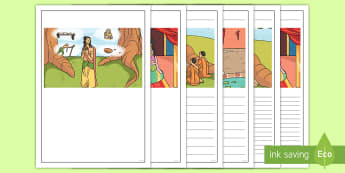 The Story of The Buddha  Writing Frames - Buddha, Buddhist, Activity, Independent, Writing Sheets