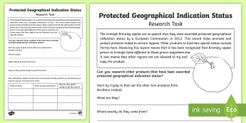 Research Task Armagh Bramley Apples Activity Sheet - STEM, Thematic Units, Resources, food, products, Northern Ireland, fresh, produce, farming, orchards