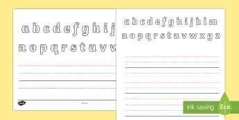 Name Writing Activity Sheet - australia, name writing, name, writing, write, letter formation, letter, activity, Australia