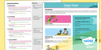 Art: Colour Chaos KS1 Planning Overview