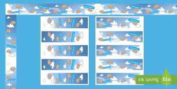 Brainwave Display Borders - learning, brain gym, brain box, brain break, Understanding.