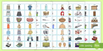 Stickers per costruire le frasi Parole Illustrate - frasi, parole, vocabolario, costruisci, le frasi, italiano, italian, scuola, elementari, materiale,