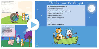 The Owl and the Pussycat PowerPoint - story books, story, books