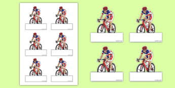 Tour of Britain Cyclists Editable Self Registration