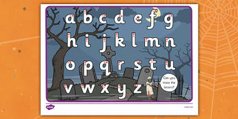 Halloween Themed Letter Writing Worksheet - writing aid, letters