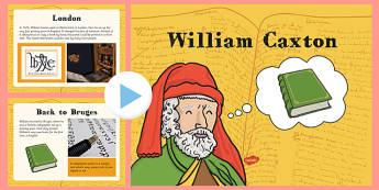 William Caxton Information PowerPoint