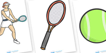 The Olympics Editable Images Tennis - Tennis, Olympics, Olympic Games, sports, Olympic, London, images, editable, event, picture, 2012, activity, Olympic torch, medal, Olympic Rings, mascots, flame, compete, events, tennis, athlete, swimming