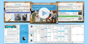 GCSE Introductory Lesson Pack To Support Teaching On 'Checking Out Me History' by John Agard - black history month, bHM, John Agard, Checking Out Me History, GCSE revision, poetry revision, AQA s