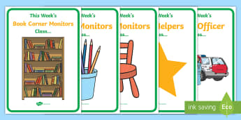 UAE Themed Weekly Helpers Display Posters - UAE, ADEC, MOE, animals, emirates, information, classroom management, display posters, helpers, role