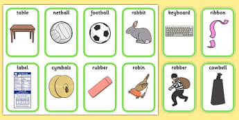 Medial 'b' Playing Cards - speech sounds, phonology, articulation, speech therapy, dyspraxia