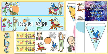 Roald Dahl Day Display Pack - roald dahl, day, display pack, display, pack