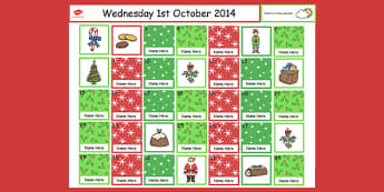 Christmas Self Registration Flipchart - self reg, christmas, iwb