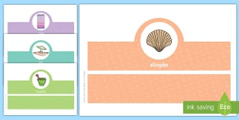 The Beach, Oral Language Headband Game Gaeilge - Gaeilge, teanga, ag caint, ar an trá, cluiche, summer,Irish