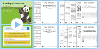 Year 1 Term 2 Paper 1 Reading Assessment Guided Lesson Teaching Pack - Year 1 Reading Assessment Guided Lesson PowerPoints, reading, read, assessment, test, powerpoint, ye