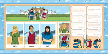 Never Let Me Go Display Pack - Never Let Me Go, Kathy, Tommy, Ruth, Quotes, Quotations.