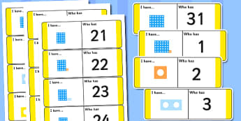 1-31 Loop Cards - loop cards, loop, cards, 1-31, Loop cards, counting, numbers to 30, numeral recognition