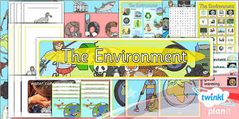 PlanIt - Science Year 2 - The Environment Unit Additional Resources - planit, science, year 2, additional resources