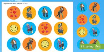 Kindness Week Logo Stickers - kindness week, twinkl kindness week, kind resources