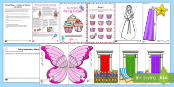 Fairy Day Activity Pack - days in, holidays, theme days, parents, family