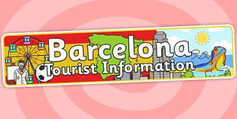 Barcelona Tourist Information Office Role Play Banner - barcelona, tourist information, role play, tourist information office, barcelona role play, office