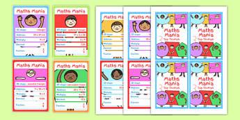 Maths - maths, top trumps, activity, math, game, cards
