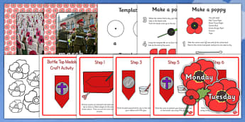 Childminder Remembrance Day Resource Pack - remembrance day, pack
