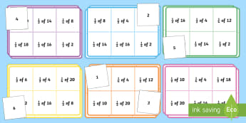 Halves and Quarters Bingo - ROI-Maths resources halves and quarters, fractions, first class, second class, fractions, 1st class,