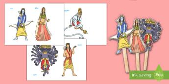 दिवाली की कहानी - कठपुतलियां, किवंदितियाँ, कहानियां, खे