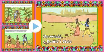 Prezentacja PowerPoint Opowieść o Ramie i Sicie