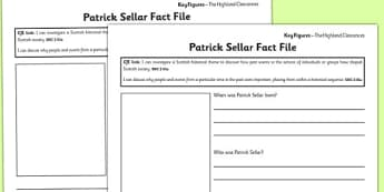 Patrick Sellar Differentiated Fact File Template - patrick sellar