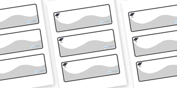 Pukeko Themed Editable Drawer-Peg-Name Labels (Colourful) - Themed Classroom Label Templates, Resource Labels, Name Labels, Editable Labels, Drawer Labels, Coat Peg Labels, Peg Label, KS1 Labels, Foundation Labels, Foundation Stage Labels, Teaching L