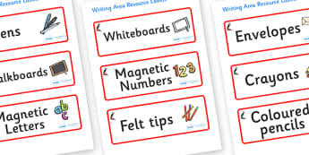 Puffin Themed Editable Writing Area Resource Labels - Themed writing resource labels, literacy area labels, writing area resources, Label template, Resource Label, Name Labels, Editable Labels, Drawer Labels, KS1 Labels, Foundation Labels, Foundation