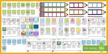 Australian Maths Pencil Targets Assessment Trackers Resource Pack - Australian Maths User Requests,Australia