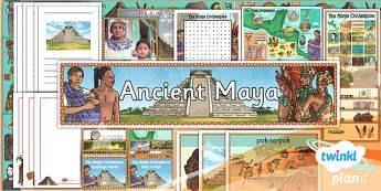 History: The Maya Civilisation UKS2 Unit Additional Resources