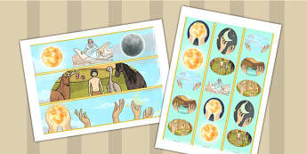 Jewish Christian Creation Story Display Borders - religion, board