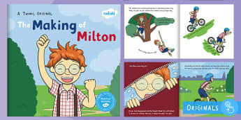 The Making of Milton eBook - fiction, ebook, courage, wizard, bravery, story, reading, english, literacy, football