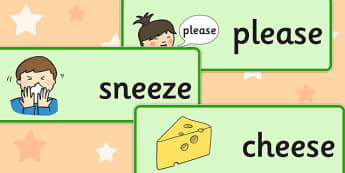 Final 'Z' Sound Word Cards - final z sound, z sound, SLT, SALT