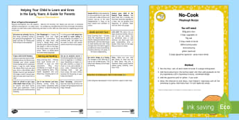Supporting Your Child's Learning in Reception -  Physical Development Parent and Carer Information Sheet - Supporting your child's learning in Early Years (Reception)